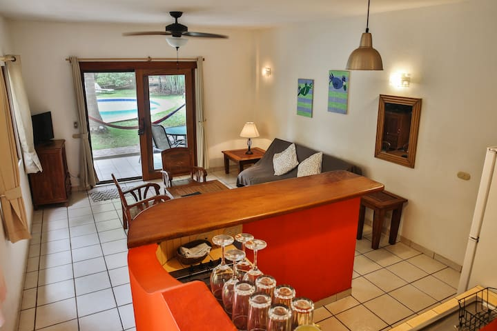 Villas Macondo:Family apartment near the beach #18