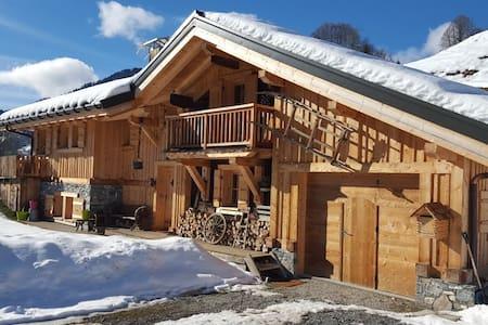 Le Refuge des Ours, - Saint-Nicolas-la-Chapelle - Hytte (i sveitsisk stil)