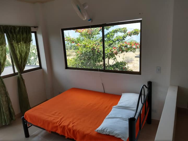 Apartamento 4 personas, zona campestre, piscina 3A