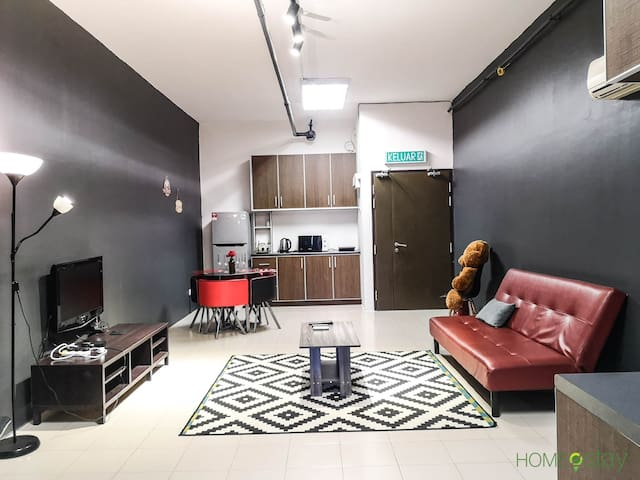 Minimalist Couple Style Apartment in Shah Alam