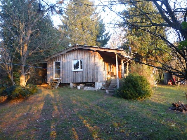 Holzhaus im idyllischen Allgäu