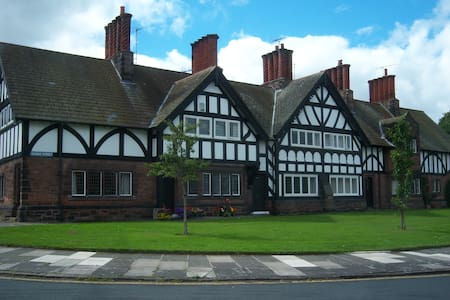 19th Century House in Port Sunlight, Wirral - Dom