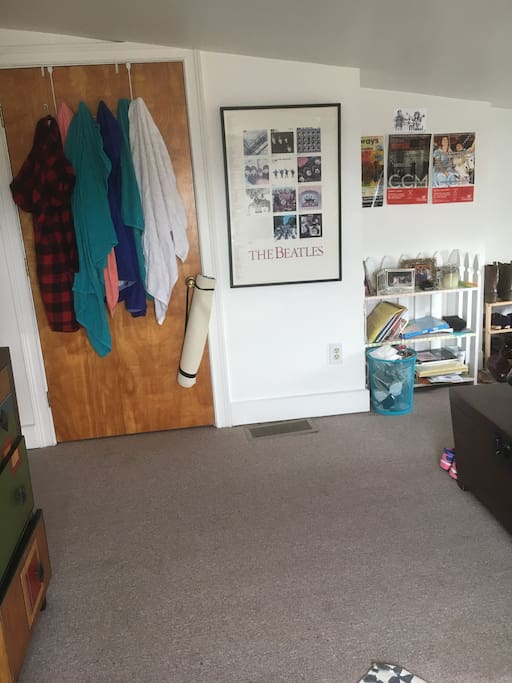 Closet, other side of room