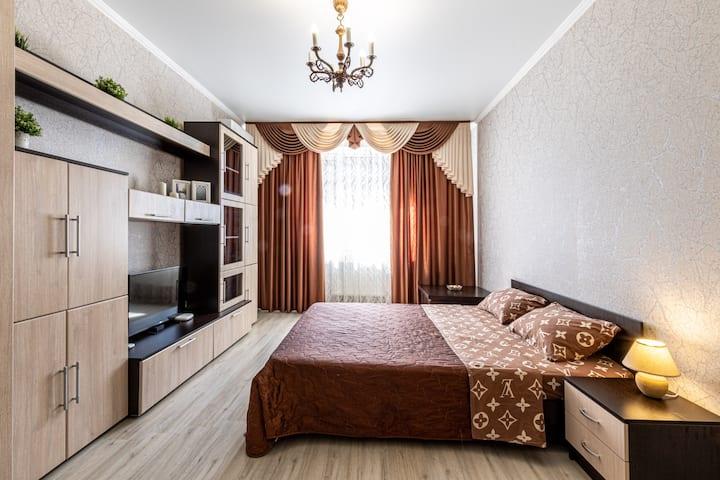 Апартаменты с видом у парка Краснодар на В-К 18\1