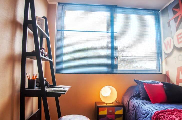 Departamento 2  habitaciones días, semanas o meses