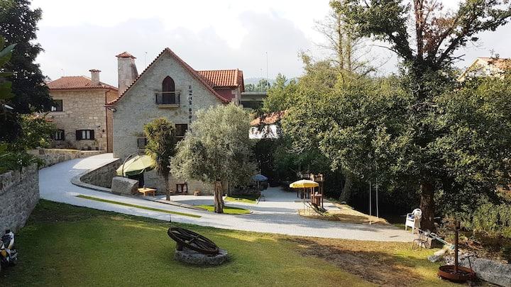 Casa da Fabrica ( moulin eau à aubes)