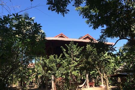 Daily life home stay  - Siem Reap, Cambodia - Dům