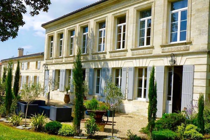Historic villa with sunny pool