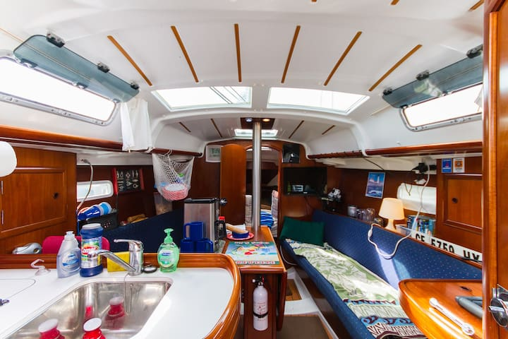 Ever Sleep aboard a Sailboat ?
