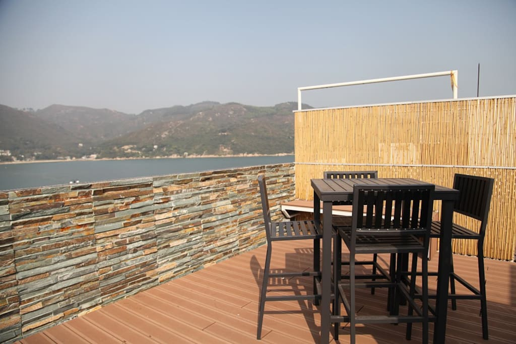 Private roof terrace,
