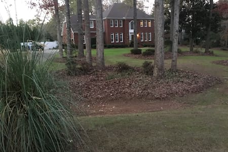 Private Suite in Lovely Home Near Wesleyan College - Macon - Talo