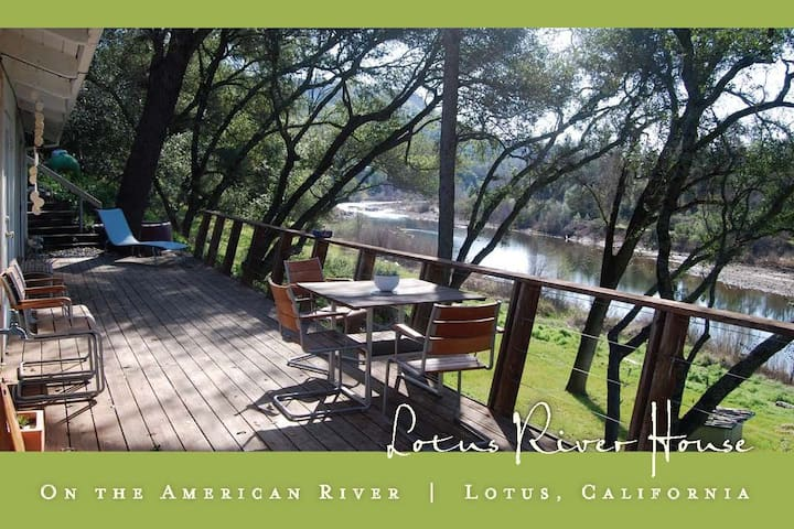 Riverfront Home in Lotus / Coloma