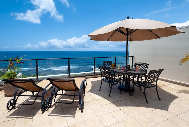Upscale ocean views with tons of space!