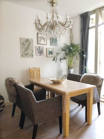 Comfortable private ground floor apartment