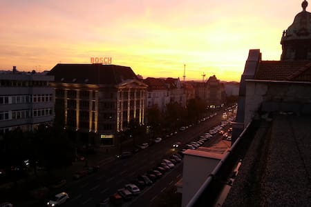Over the Roof of Charlottenburg