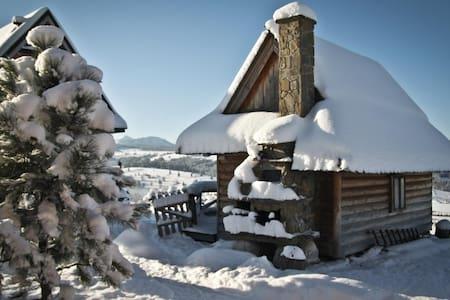 Miętowa Górka, romantyczny domek - Czerwienne - 샬레(Chalet)
