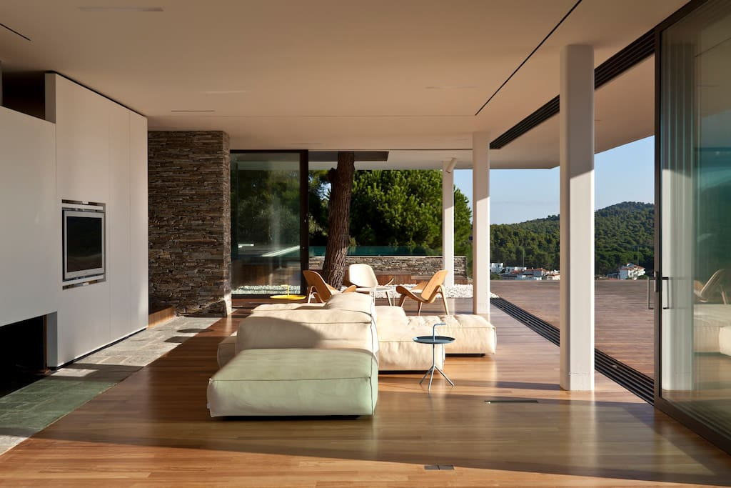 When the outside meets the inside! Your Living Room