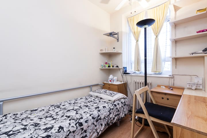 A single room in a large flat