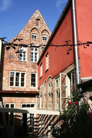 Einzelzimmer im Altstadthaus (122) - Lübeck - Hus