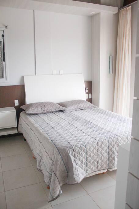 Quarto 1: 1 cama de casal