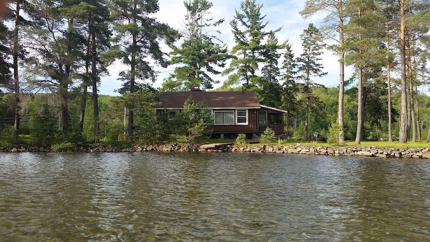 Cabin on Big Basswood Lake