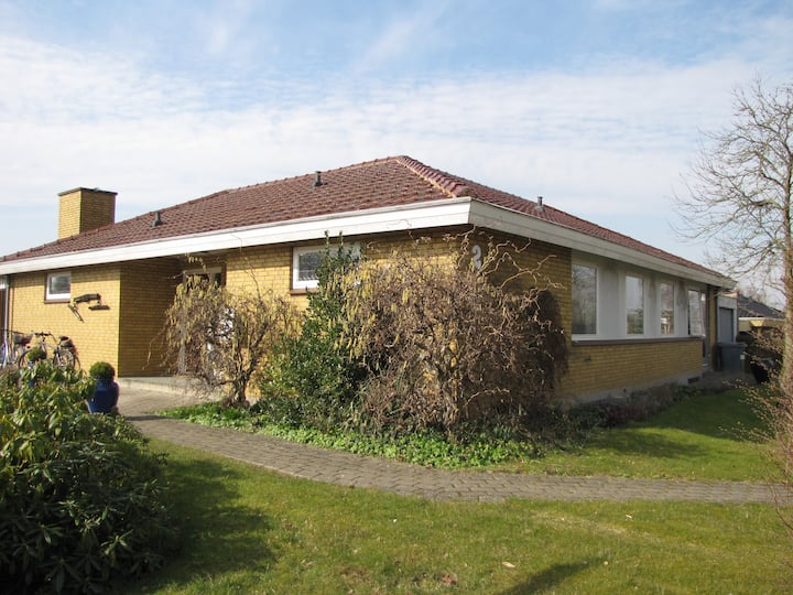 Nice house 7 km away from Odense C