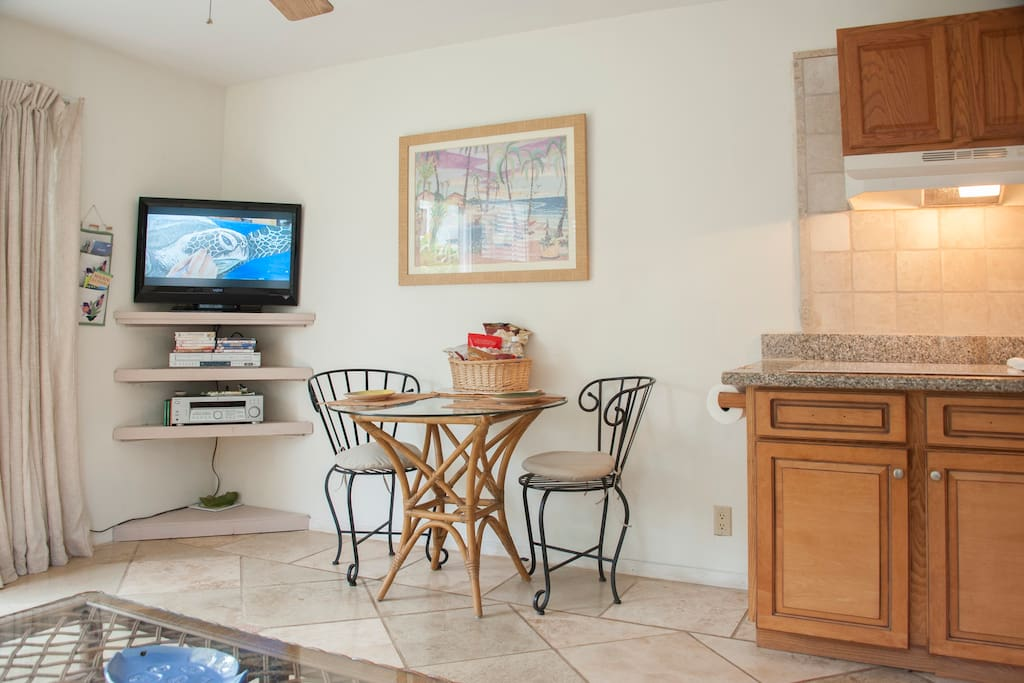 """32 """" visio flat screen for dining with netflicks.."""