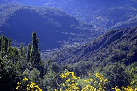 casa encantadora en paisaje genial - visalibons  (Huesca ) - Maison
