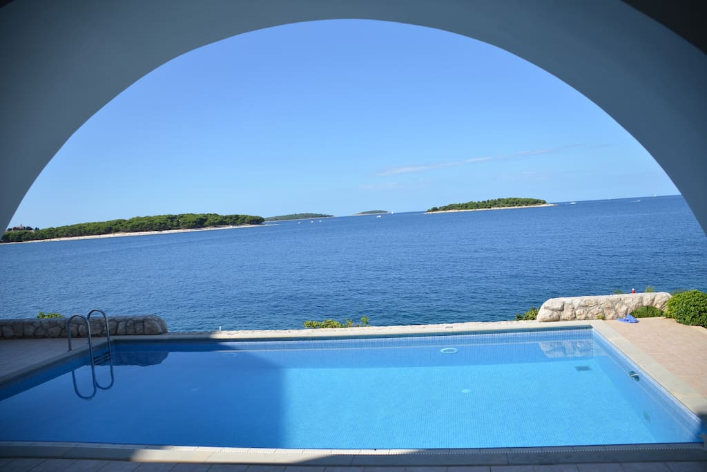 View into the blue...
