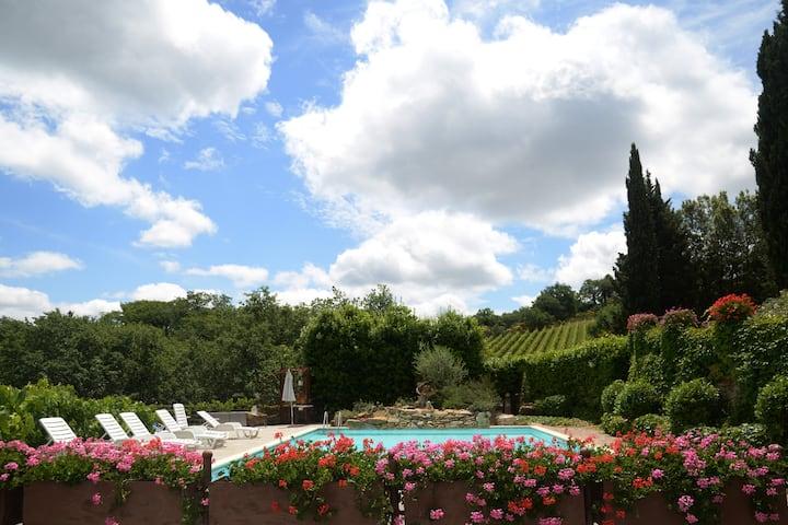 Chianti Private Villa with Pools and Spa