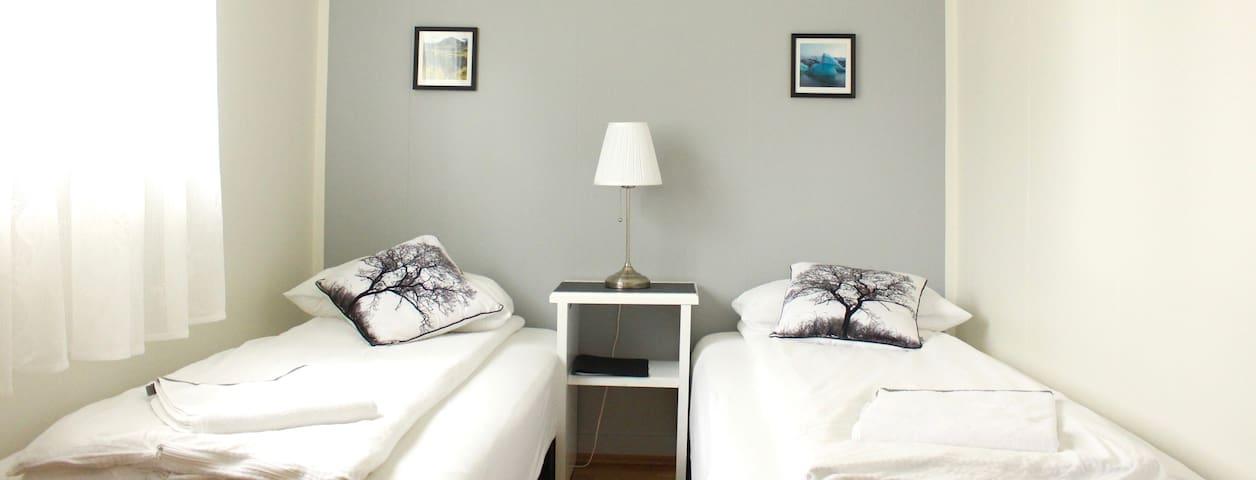 Efra-Sel, room #2 (2 single beds)