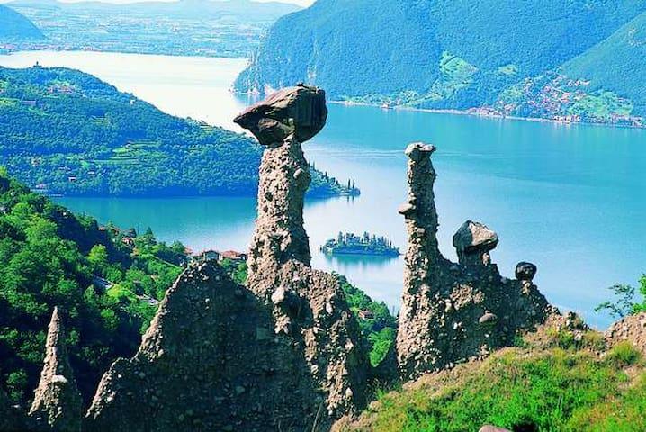Piccolo Paese a  sul Lago d' Iseo - Zone - Inap sarapan