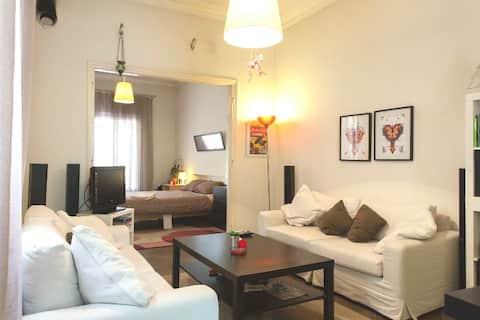 Studio apartment near Athens cente