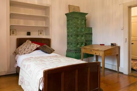 Chambre double dans un château - Givisiez - ปราสาท