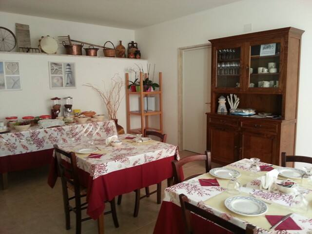 B&B La Stella Marina - Medusa - Marina di Mancaversa - ที่พักพร้อมอาหารเช้า