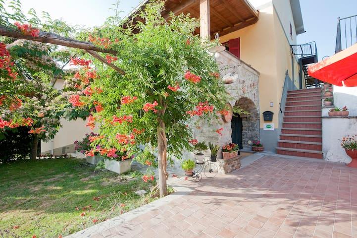 +B&B +5 +Terre +Room +Very +Nice - Beverino - Szoba reggelivel