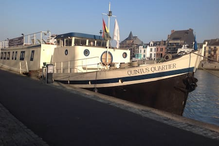6. Liège centre, Port des yachts! - Liège - Barca