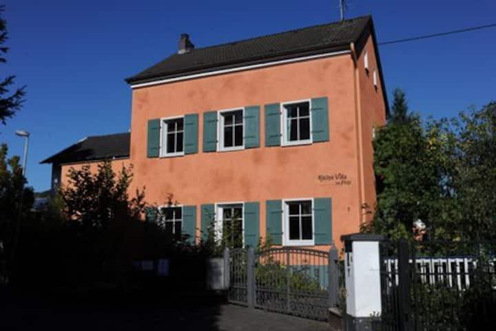 Kleine Traumvilla am Rhein- kleine Villa im Pfuhl