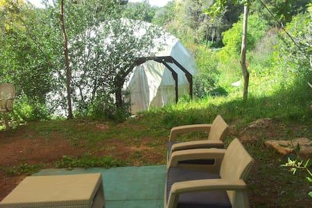 Beit Keshet Forest - Mt Tabor dome - Beit Keshet  - Jurte