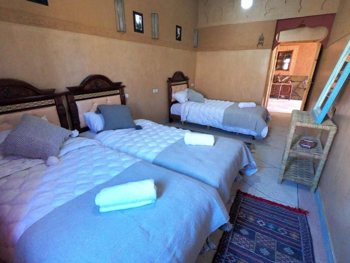 Premium Triple  Room in Berber Nomad