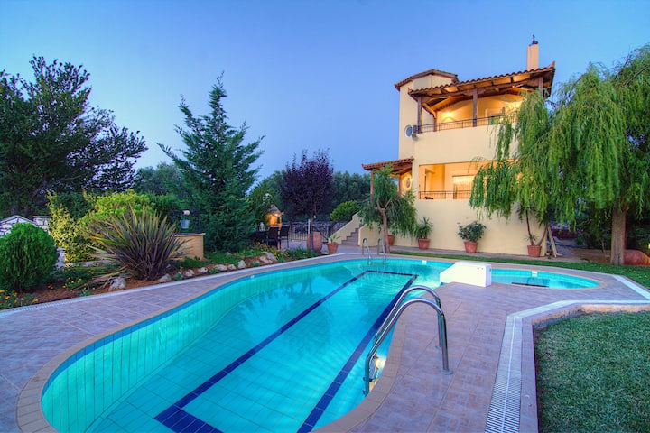 Villa Lambros, Away it From All