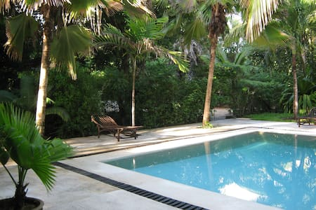 Cottage with pool 5 mins from beach - Watamu