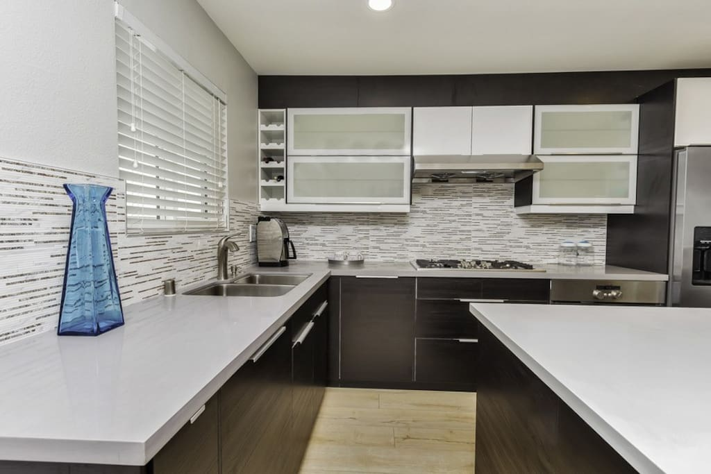 All new appliances and cabinetry