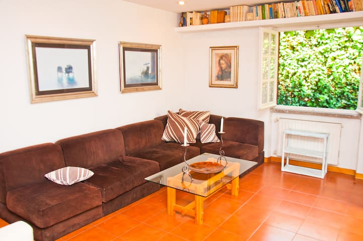 deliziosa casa in villa a Roma - Řím - Byt