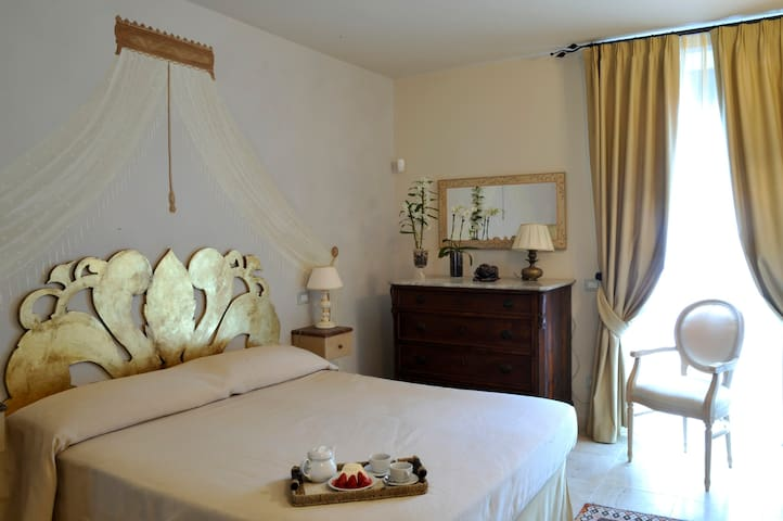 Camera  Matrimoniale Romantica 2pax - Rapolano Terme - Inap sarapan