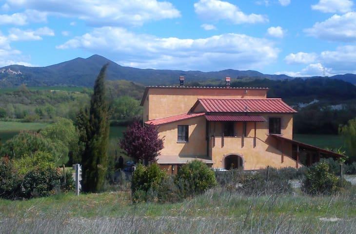 Wohnung La Sassa  87 qm in privatem Landhaus