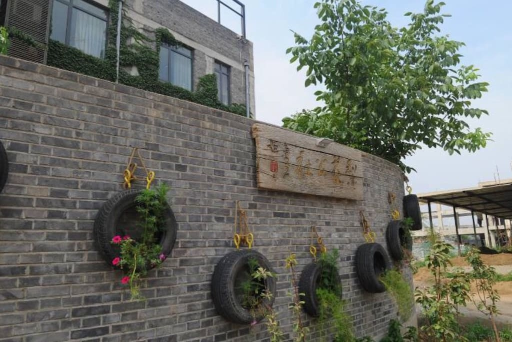 梨花公社外墙。