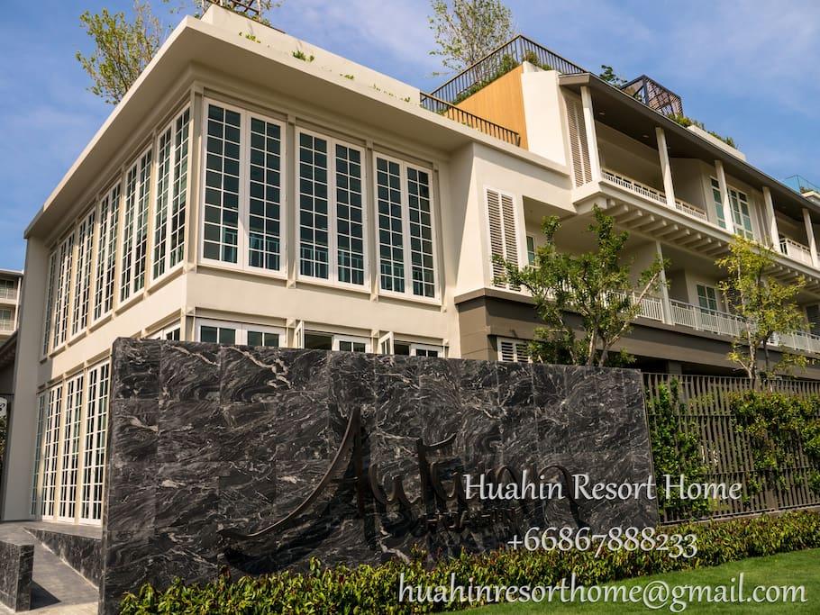 Autumn hua hin Brand new luxury resort condo