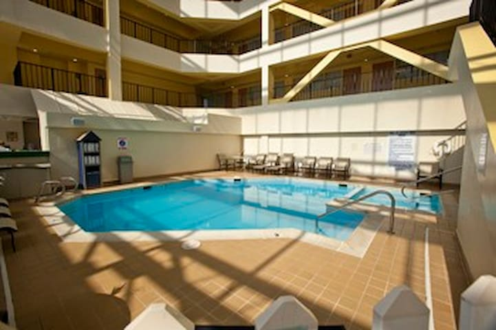 The Atrium in the heart of the VA Beach