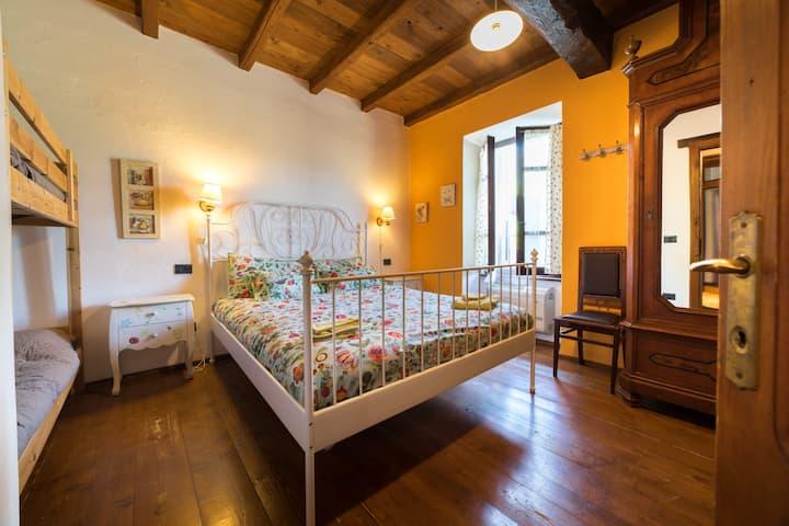 Chalet Casa Salviain  bio edilizia e Family-room